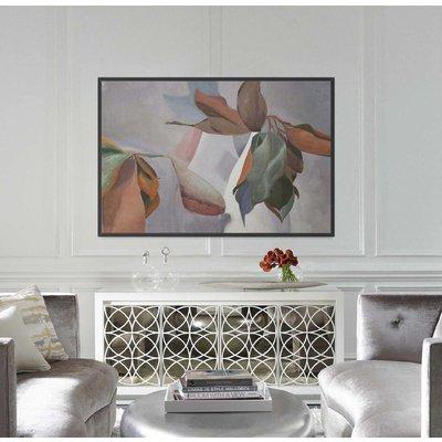 Framed Print on Rag Paper: Magnolia by Encarnacion Portal Rubio