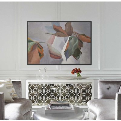 The Picturalist Framed Print on Rag Paper: Magnolia by Encarnacion Portal Rubio