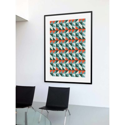 The Picturalist Framed Print on Rag Paper: Moderno by Alejandro Franseschini