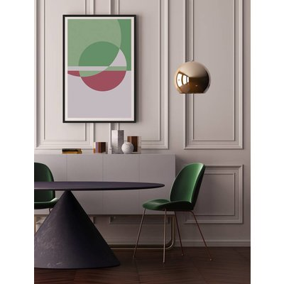 The Picturalist Framed Print on Rag Paper: Untitled 350 by Pedro Nuka
