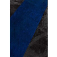 Black and Blue Canvas
