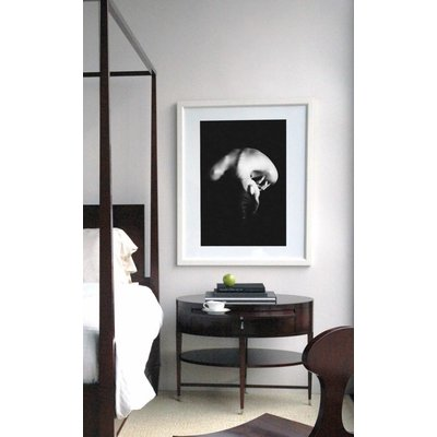 Framed Print on Rag Paper: In Peace by J. Alzate