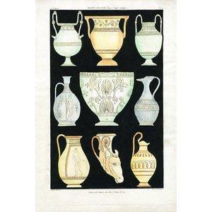 Antique Greek Vases and Urns Series 1