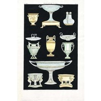 Print on Paper US250 - Ancient Greek Vases and Urns Series 2