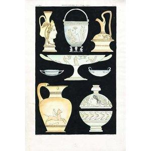 Antique Greek Vases and Urns Series 3