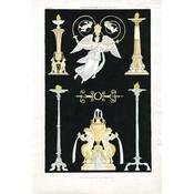 Framed Print on Rag Paper: Antique Greek Vases and Urns Series5