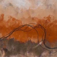 Framed Print on Rag Paper: Cuerdas Naranja