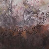 Framed Print on Rag Paper: Cuerdas Siena