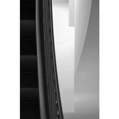 Framed Print on Rag Paper: Treppe by Wassily Kazimirski