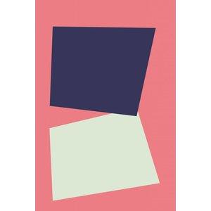 Framed Print on Rag Paper Untitled 3053