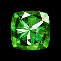 Framed Facemount Acrylic Precious Gem Green Radiant Emerald