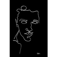 Print on Paper US250 - Portrait of a Young Man