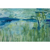 Framed Print on Canvas: Nature Studies 1 Canvas by Evelyn Ogly