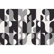 Framed Print on Rag Paper: Grafiko 2 by Alejandro Franseschini