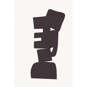 The Picturalist Framed Print on Rag Paper: Modernist Shapes 2