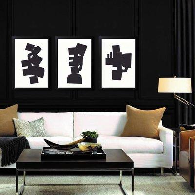 Framed Print on Rag Paper: Modernist Shapes 2 by Alejandro Franseschini