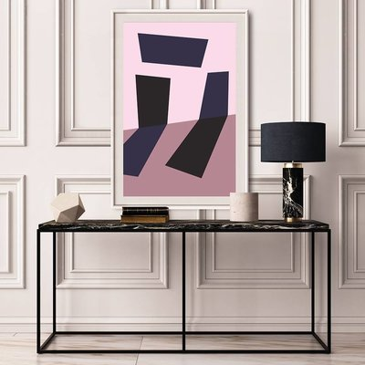 Framed Print on Rag Paper: Untitled 1550 by Pedro Nuka