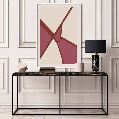 Framed Print on Rag Paper: Untitled 950 by Pedro Nuka