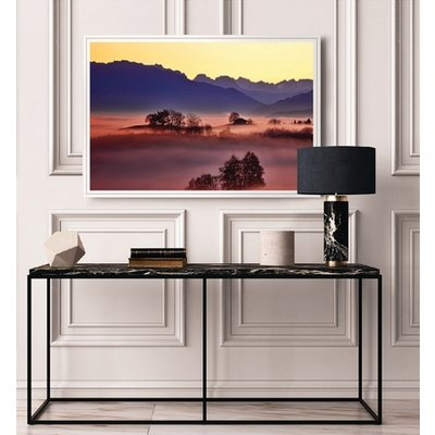 The Picturalist Framed Facemount Acrylic: Colors at Dawn 1/4 Inch Thick Acrylic Glass