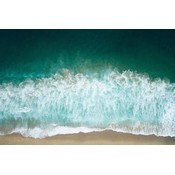 Facemount Acrylic - Breaking Waves 1/4 Inch Thick Acrylic Glass