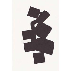 Framed Print on Rag Paper: Modernist Shapes 3