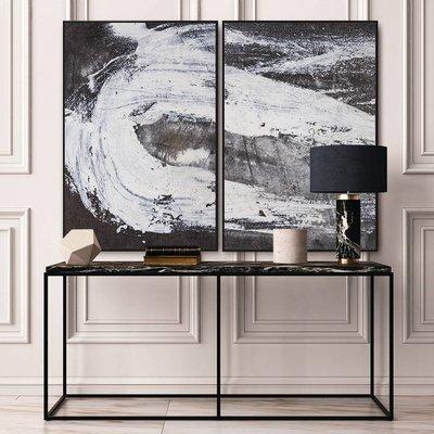 Framed Print on Canvas: Oblivion II Canvas by Evelyn Ogly