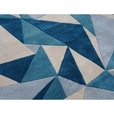 Hand Knotted 50% Silk 50% NZ Wool Dubuffet Silk and Wool Rug Collection