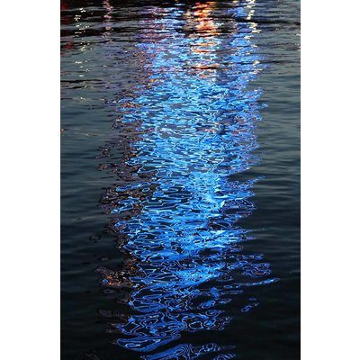 Print on Paper US250 - Blue Reflection by M. Walker