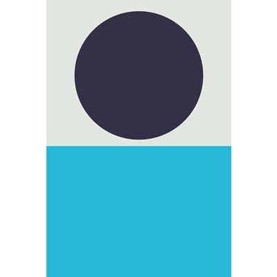 The Picturalist Framed Print on Rag Paper: Blue Moon I by Alejandro Franseschini