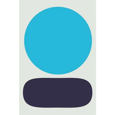 The Picturalist Framed Print on Rag Paper: Blue Moon II by Alejandro Franseschini