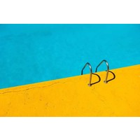 Print on Paper US250 - Poolside by E. Girardet