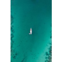 The Picturalist Framed Print on Rag Paper: Sailing through Reefs