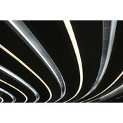 Framed Print on Rag Paper Parallel Lines by J. Bugua