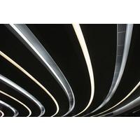 Framed Print on Rag Paper: Parallel Lines