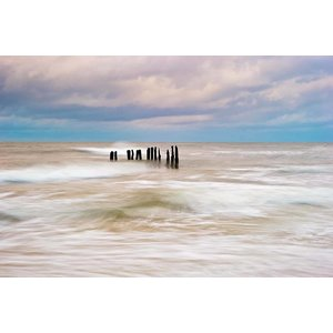 The Picturalist Framed Print on Rag Paper: Huron Lake Shore