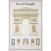 Print on Paper US250 - L'Arc De Triomphe Architectural Drawings