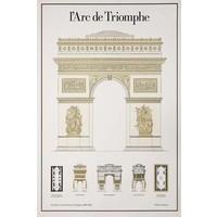 Framed Print on Rag Paper L'Arc De Triomphe