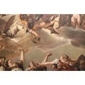 Framed Print on Rag Paper: Fresco Detail by S. Ollier