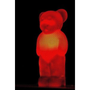 Print on Paper US250 - Red Bear