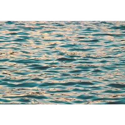Framed Print on Rag Paper: Water Pattern Print on Archival Paper