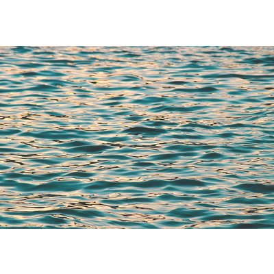The Picturalist Framed Print on Rag Paper: Water Pattern Print on Archival Paper