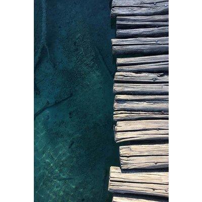 Framed Print on Rag Paper: Boardwalk