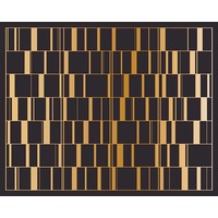 The Picturalist Framed Facemount Acrylic: Black Gold Screen