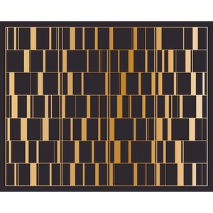 The Picturalist Facemount Acrylic: Black Gold Screen