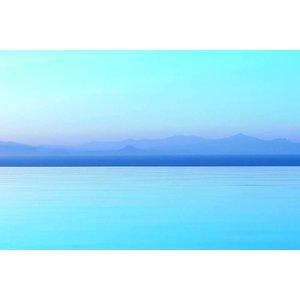 The Picturalist Framed Print on Rag Paper: Horizon Bleu