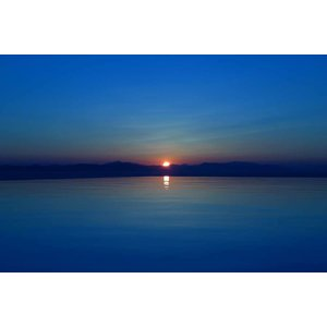 The Picturalist Framed Print on Rag Paper: Sunset Blues
