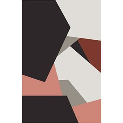 Framed Print on Rag Paper: Untitled 450 by Pedro Nuka
