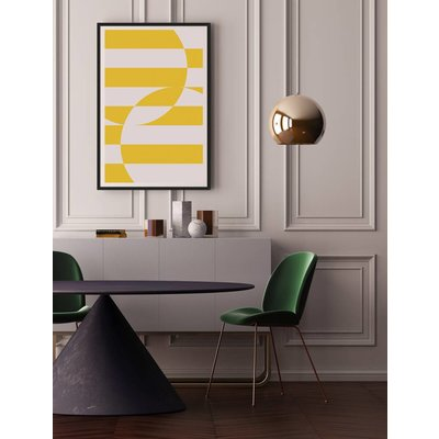 Framed Print on Rag Paper: Untitled 3350 by Pedro Nuka