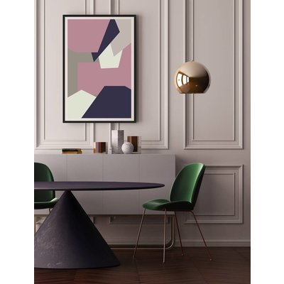 Framed Print on Rag Paper: Untitled 1150 by Pedro Nuka