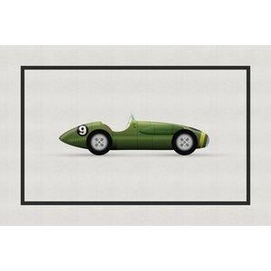 Framed Print on Rag Paper: Vintage Formula The A Series